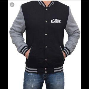Jackets Coats Black Panther Varsity Jacket New L Poshmark
